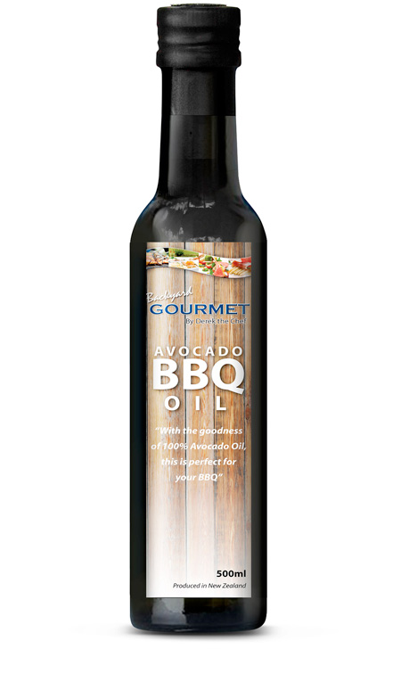 avocado BBQ oil